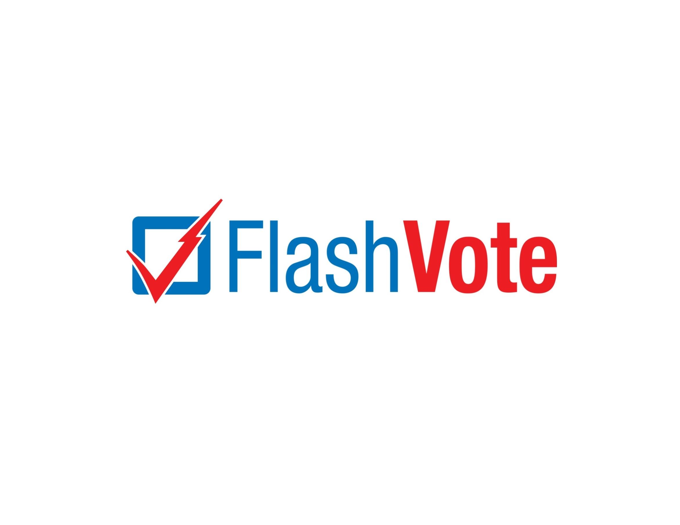 FlashVote Updated PNG Logo