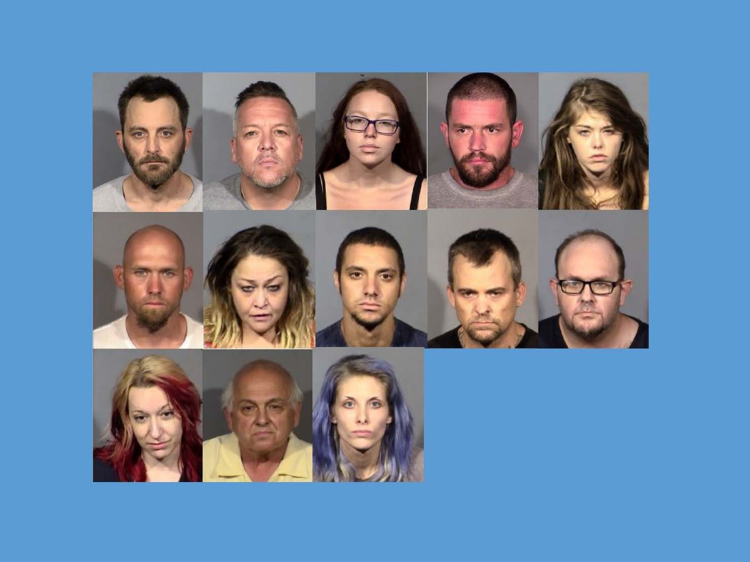 13 arrested - june 2020