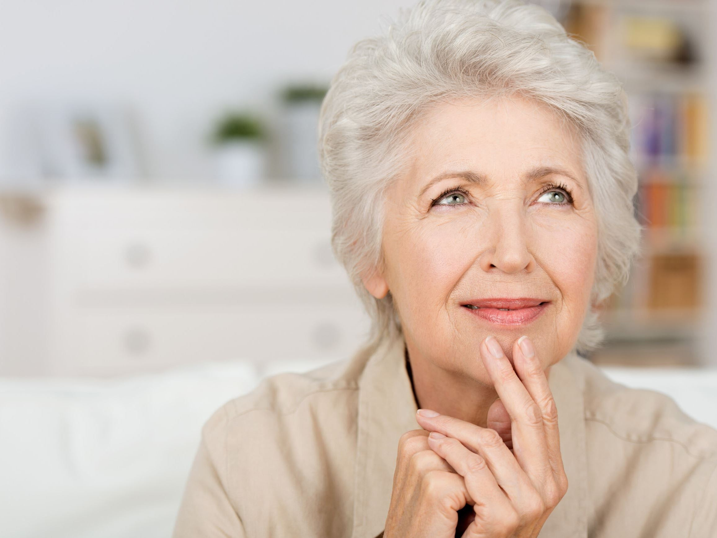 Stock image older woman