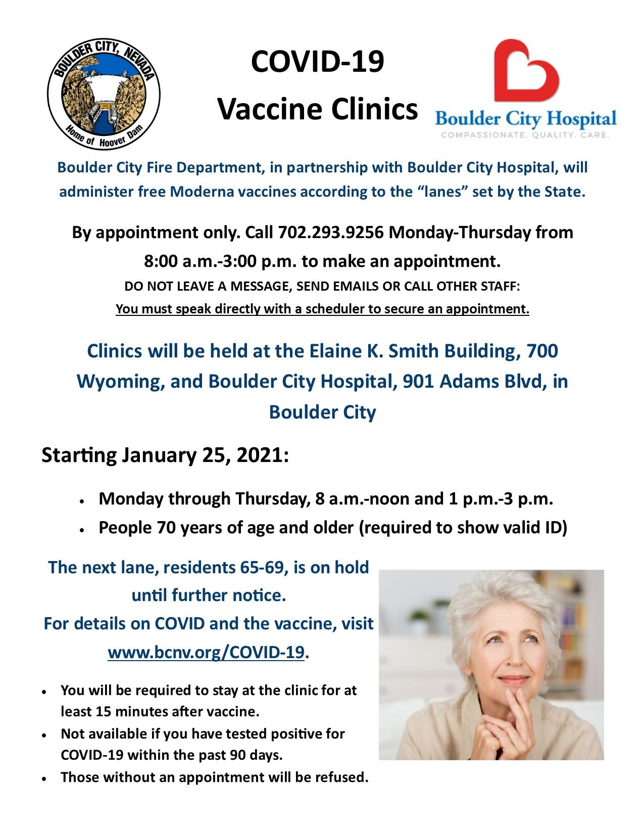 Vaccination Clinic Flyer - Lane 1